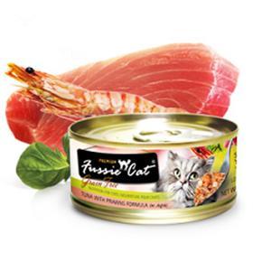 Fussie Cat Premium Tuna with Prawns