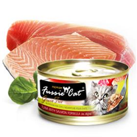 Fussie Cat Premium Tuna with Salmon