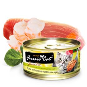 Fussie Cat Premium Tuna with Shrimp