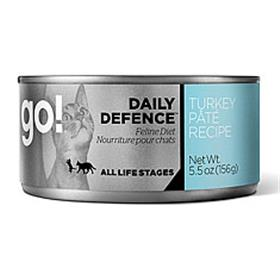 Petcurean GO Daily Defence Turkey Pate Recipe