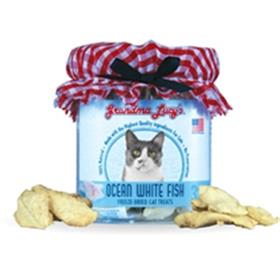Grandma Lucys Freeze Dried Cat Ocean White Fish
