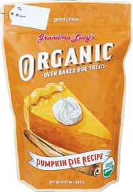 Grandma Lucys Organic Pumpkin Pie Holiday Oven Baked Treat
