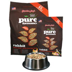 Grandma Lucys Pureformance Rabbit Grain Free Dog Food