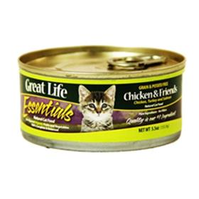 Great Life Essentials Chicken and Friends Cat Cans