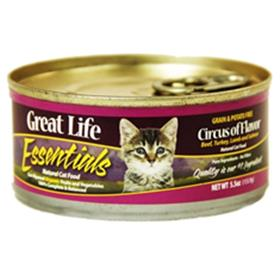 Great Life Essentials Circus of Flavors Cat Cans