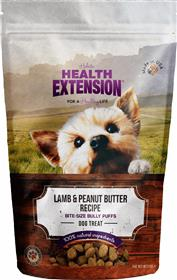 Health Extension Bully Puffs Lamb Peanut Butter