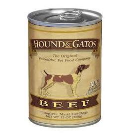 Hound and Gatos Beef Recipe For Dog