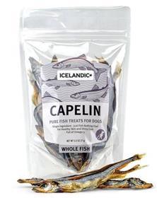 Icelandic Capelin Whole Fish Dog Treat