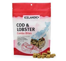 Icelandic Cod and Lobster Combo Bites Fish Dog Treat
