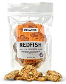 Icelandic Redfish Skin Rolls Dog Treat