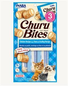 Inaba Churu Bites Chicken Recipe Wraps Tuna with Scallop