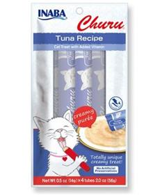 Inaba Churu Grain Free Tuna Puree Lickable Cat Treat