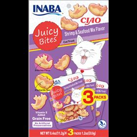 Inaba Ciao Juicy Bites Shrimp and Seafood Mix Flavor