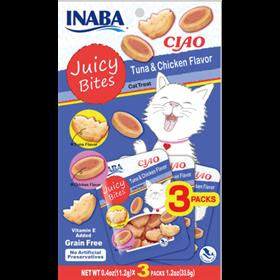 Inaba Ciao Juicy Bites Tuna and Chicken Flavor