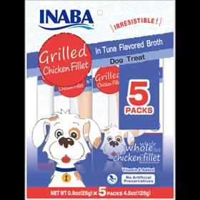 Inaba Grilled Chicken Fillet In Tuna Flavored Broth for Dogs