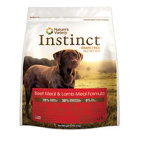Natures Variety Instinct Beef Meal and Lamb Meal Formula