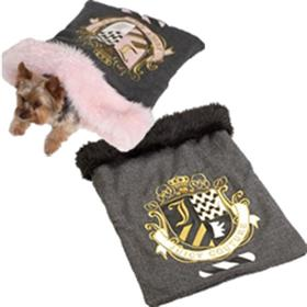 Juicy Couture Herringbone Dog Sleeping Bag