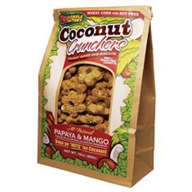 K9 Granola Factory Coconut Crunchers Papaya and Mango