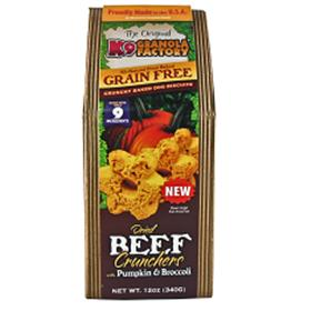 K9 Granola Factory Grain Free Dried Beef Crunchers