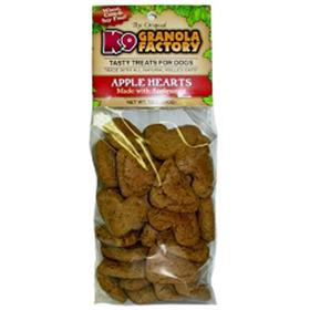 K9 Granola Factory Mini LOW FAT Apple Hearts