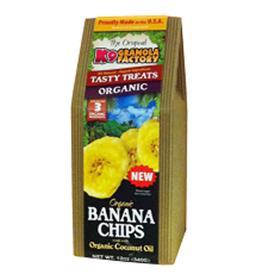 K9 Granola Factory Organic Banana Chips