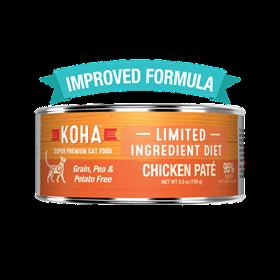 Koha Limited Ingredient Chicken Pate Wet Cat Food