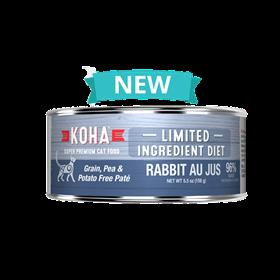 Koha Limited Ingredient Rabbit Au Jus Pate Wet Cat Food