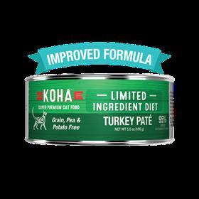 Koha Limited Ingredient Turkey Pate Wet Cat Food