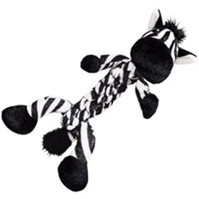 Kong Braidz Safari Zebra Dog Toy
