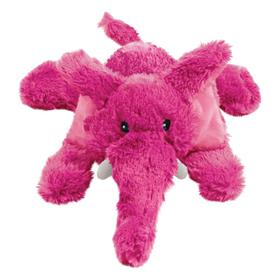 Kong Cozie Elmer Elephant Dog Toy