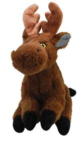 Kong Holiday Comfort Moose Dog Toy