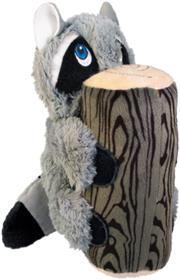 Kong Huggz Hiderz Raccoon Dog Toy