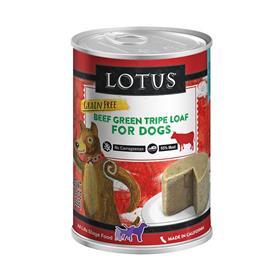 Lotus Grain Free Green Tripe Loaf Canned Dog Food