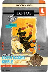 Lotus Small Bites Wholesome Chicken Recipe for Puppies