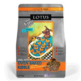 Lotus Small Bites Wholesome Grain Free Duck Recipe