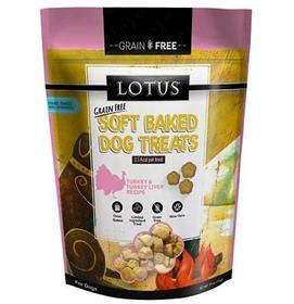 Lotus Soft Baked Grain Free Turkey and Turkey Liver Treat