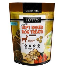 Lotus Soft Baked Grain Free Venison Treat