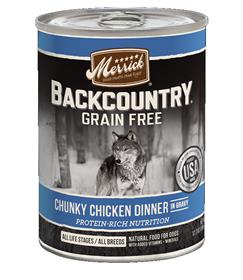 Merrick Backcountry Chunky Chicken Can