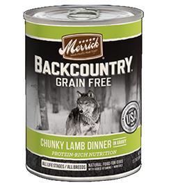 Merrick Backcountry Chunky Lamb Can