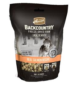 Merrick Backcountry Freeze Dried Meal Mixer Real Salmon Recipe