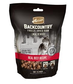Merrick Backcountry Freeze Dried Real Beef Meal Mixer