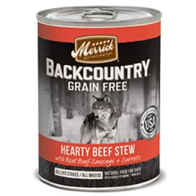 Merrick Backcountry Grain Free Hearty Beef Stew