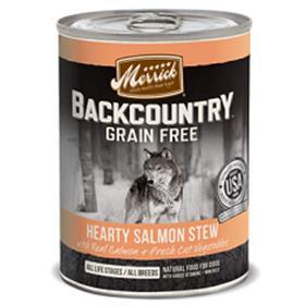 Merrick Backcountry Grain Free Hearty Salmon Stew