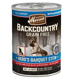 Merrick Backcountry Heros Banquet Stew