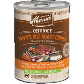 Merrick Chunky Pappys Pot Roast Dinner