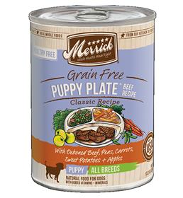 Merrick Classic Puppy Plate Real Texas Beef Recipe