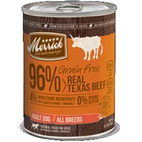 Merrick Grain Free Real Texas Beef