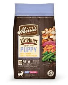 Merrick Lil Plates Real Chicken Sweet Potato Recipe Puppy Dry Dog Food