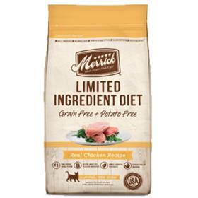 Merrick Limited Ingredient Diet Grain Free Real Chicken Recipe Dry Cat Food