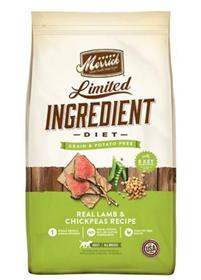 Merrick Limited Ingredient Grain Free Real Lamb and Chickpeas Recipe Dry Dog Food